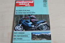 164711) Yamaha XTZ 660 Tenere im TEST - Motorrad Reisen Sport 04/1991