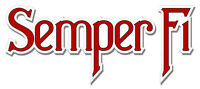 """Marine Corps ' Semper Fi ' 5.5"""" Sticker / Decal - 'Officially Licensed'"""