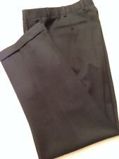 Zanella Bennett Mens Blue Check Pants Made In Italy Sz. 32 X 30.5 MINT!