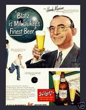 Blatz Beer - Vintage Ad - Fridge Magnet