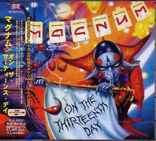 MAGNUM On The Thirteenth Day JAPAN CD + 3 2013 Jewel Case Bob Catley From the UK
