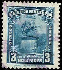 Scott # C253 - 1947 - ' Statue of Simon Bolivar '