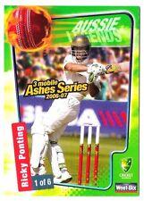 Ricky Ponting Sport Australia Batsman Cricket Trading Card Weet Bix