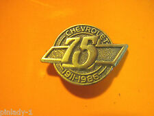 CHEVROLET 75 YEAR ANNIVERSARY - Hat pin , lapel pin  tie tac  hatpin GIFT BOXED