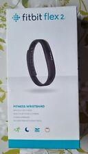 Fitbit Flex 2 - Fitness Wristband Wireless Activity Tracker - Black - New Sealed