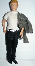 2008 Jakks 11 inch Blond Doll in white shirt denim jacket & jeans needs battery