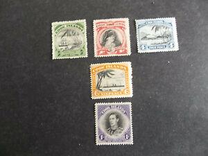 COOK ISLANDS. 1938/32.SG.143.106/7/10/42