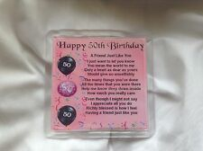 Female 50th Birthday Gifts Products For Sale