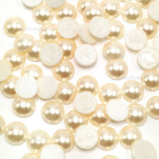 144 Swarovski 2080/4 Cabochon Flatbacks Hotfix 4mm ss16 Crystal Cream Pearl