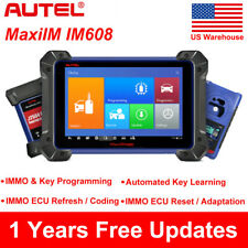 Autel MaxiIM IM608 IM508 OBD2 Auto Diagnostic Tool IMMO Key Programming US