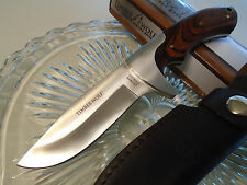 Timber Wolf Blazing Bowie Hunter Knife Full Tang Rose Wood German Stainless TW13