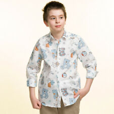 Celino Boy's Long Sleeve Tops Dress Shirts for Casual Made in Europe