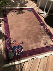 Antique Chinese Hand Knotted Rug