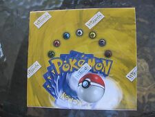 WOTC Pokemon Base Set 1 Unlimited Booster Box ...Sealed..Excellent+++ Condition