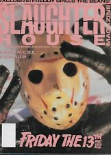 Slaughterhouse Magazine No.5 / 1989 Friday the 13th Part VIII / Japanese Horror