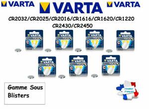 Battery CR2032/CR2025/CR2016/CR1616 /CR1620/CR1220/CR2430 Button VARTA 3V