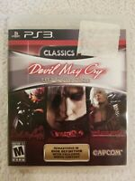 Devil May Cry HD Collection (Sony PlayStation 3, PS3 2012) CIB FREE S/H