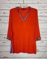 THML Stitch Fix Women's S Small Long Sleeve Cute Fall Tunic Top Shirt Blouse
