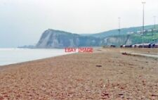 PHOTO  KENT 1990 DOVER WEST VIEW FROM NEAR MARINE STATION TO SHAKESPEARE CLIFF W