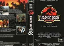 JURASSIC PARK - Neil & Dern -VHS -PAL -NEW - Never played! - Original Oz release