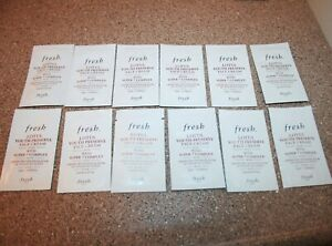 12 x Fresh Lotus Youth Preserve Facial Moisturizer .06 oz / 2mL sample = .72 oz