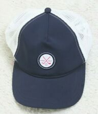 Puma Golf Baseball Style Hat Adult Blue White Mens Cap Snapback Polyester Nylon