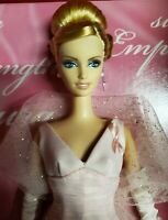 BARBIE PINK RIBBON GOWN DRESS & STOLE FASHION  DOLL Pink Label
