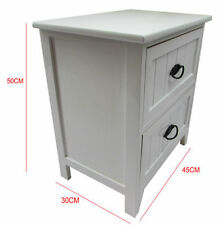 Wooden 45cm-50cm Height Bedside Tables & Cabinets