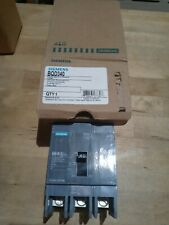 Siemens Bqd340 3 pole 480v 40 amp panel mount breaker new in box.