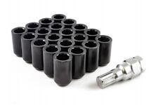 20 x Black Tuner Wheel Nuts M12x1.5 Fits Honda Civic EG EK EP3 EK9 FN2