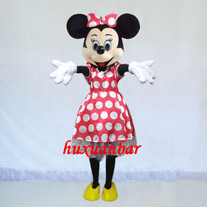Minnie Mouse Mascot Costume Dress Epe High Quality Adult Size Party Costume