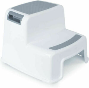 2 Step Stool for Kids, Potty Training ladder with Non Slip Footslip use in Home