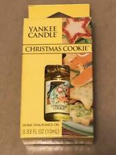 Yankee Candle CHRISTMAS COOKIE Home Fragrance Oil NIB
