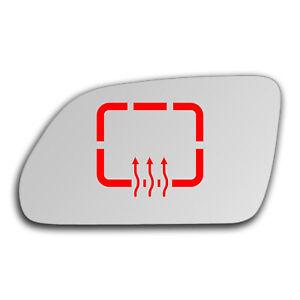 Left Side Clip On Heated Mirror Glass for Skoda Octavia 2004 - 2009 0003LSHP