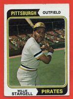 1974 Topps #100 Willie Stargell VG-VGEX+ HOF Pittsburgh Pirates HOF FREE SHIP