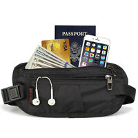 Travel Money Belt with RFID Block - Includes Theft Protection, Free Sleeve Cards