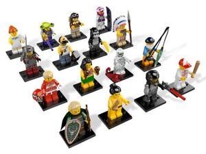 Lego - Minifigurines série 3 complète