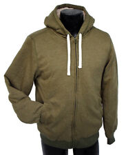 Goodfellow & Co Men's Sherpa Fleece Jacket Olive Green Size M Thick Hoodie, NWT