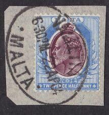 Malta 1903 - 2 1/2d - SG41 - Stamped Valetta April 1904 (B8A)