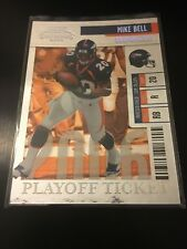 2006 Playoff Contenders Playoff Ticket MIKE BELL Rookie RC /25