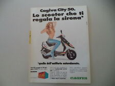 advertising Pubblicità 1993 CAGIVA CITY 50 LUCKY EXPLORER