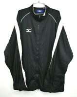 Mizuno Jacket Mens Athletic Running Sport Zip Front Casual Everyday Size 2XL