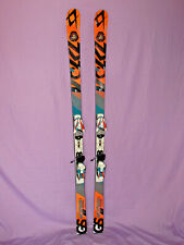 Volkl RACETIGER Jr GS World Cup race skis 176cm w Marker COMP 10.0 ski bindings~
