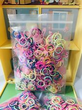560pc Colour Rubber Bands Baby Toddler Hair Ties Hair Band Elastic Ties New