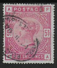 SG180. 5s.Rose VFU-With Faults.5mm. Heavy Vertical Thin On Top Edge. Ref:1549