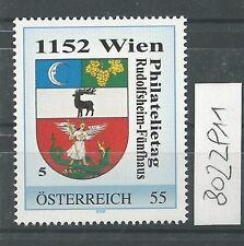 Österreich PM personalisierte Marke Philatelietag 1152 WIEN 8022911 **