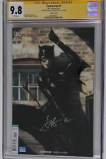 "Catwoman 1  Signed by Stanley ""Artgerm"" Lau   CGC 9.8"