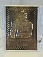 NIP Mint Dale Earnhardt Sr #3 23 Kt Karat Gold Card Salute Racing Greats Nascar