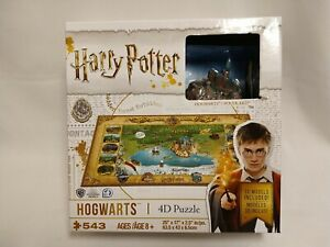 Harry Potter HOGWARTS 4-D Puzzle 543 Pieces 3-D Models Included