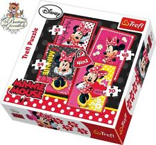 Disney Minnie Puzzle 4 in 1